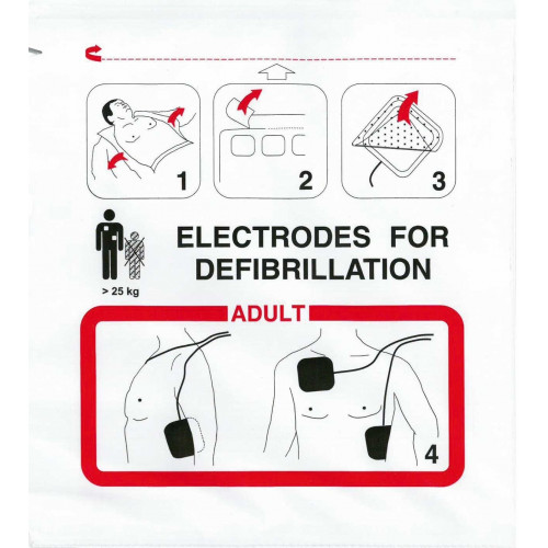 Electrodes FRED EASY Adulte