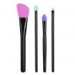 PINCEAU DE MAQUILLAGE SILICONE X4