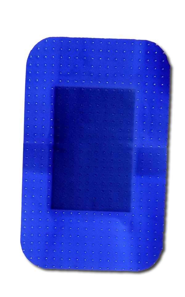 Pansement bleu d tectable 60x40mm for Brulure et piscine