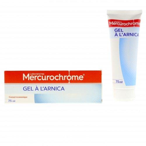Gel à l'arnica Mercurochrome