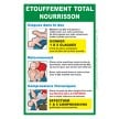 Affiche Etouffement total nourrisson