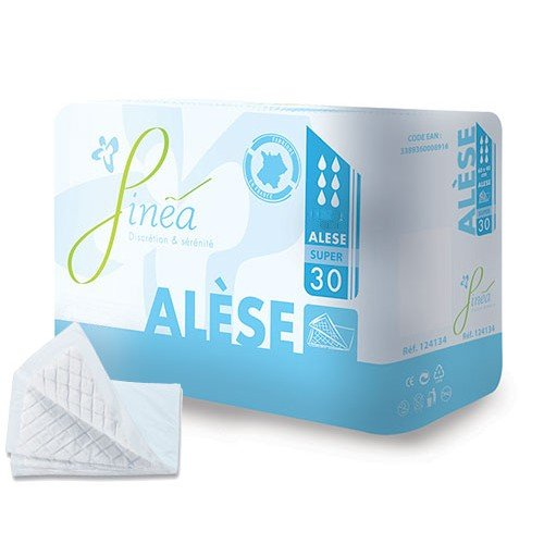 Alèse absorbante 525ml 60x40cm
